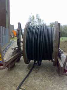 Kabels leggen